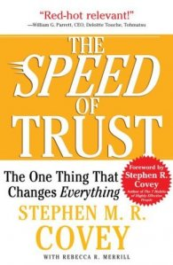 The Speed of Trust by Steven M R Covey